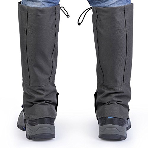 MIGVELA Outdoor Waterproof Legging Gaiters High Snow Leg Cover for Climbing Hunting Walking Hiking …