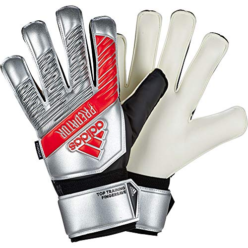 adidas Predator Training FINGERSAVE Goalkeeper Gloves 302 Re Direct Silver Metallic