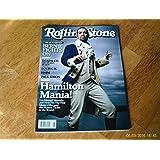 Rolling Stone June 16, 2016 Lin-Manuel Miranda Hamilton Mania!