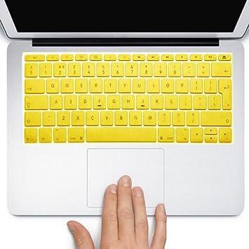 Funda Protector para teclado QWERTY (España) (Intro EU) Silicona para Apple MacBook Air de 11