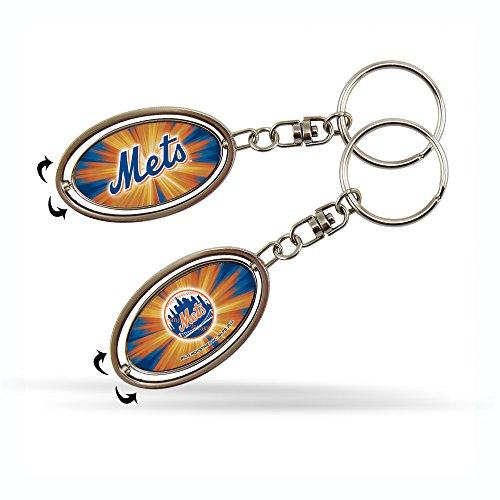 Rico MLB New York Mets Spinner Keychain (New York Mets Lanyard)