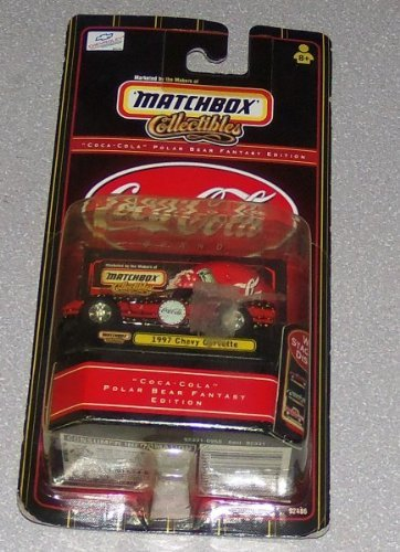 Matchbox Collectible Coca-Cola Polar Bear Fantasy Edition 1997 Chevy Corvette Chevrolet Licensed Product