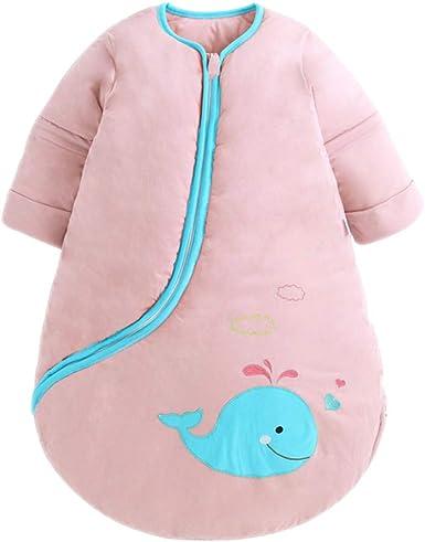 BOZEVON Saco De Dormir para Bebés - Unisex Niños Pequeños De Invierno Cálido Suave Transpirable Anti Patadas Animal Impreso Saco De Dormir 0-5 Años: Amazon.es: Ropa y accesorios