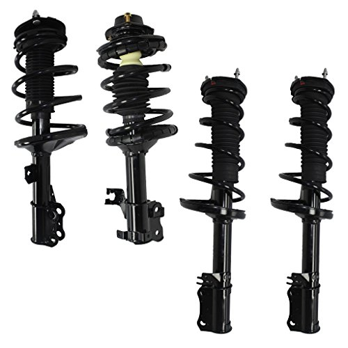 Strut Front Axle - Detroit Axle - Brand New All (4) Front & Rear Complete Strut & Spring Assembly for 2002-2003 Toyota Camry & Lexus ES300