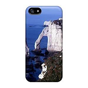 First-class Case Cover For Iphone 5/5s Dual Protection Cover Etretat by supermalls