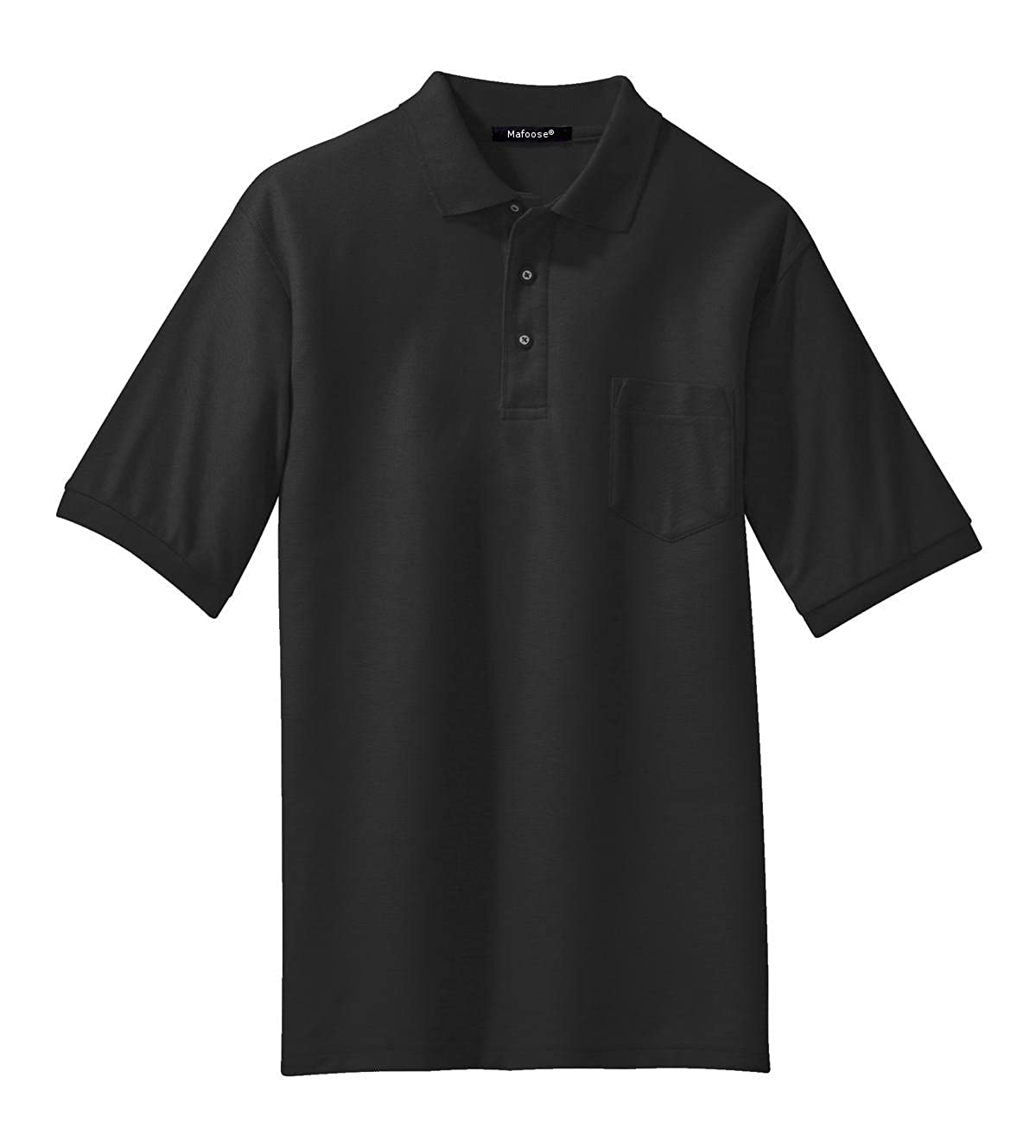 Mafoose Mens Silk Touch Polo with Pocket