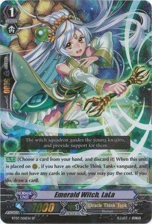 Cardfight!! Vanguard TCG - Emerald Witch, LaLa (BT07/S06EN) - Rampage of the Beast King by Bushiroad Inc.: Amazon.es: Juguetes y juegos