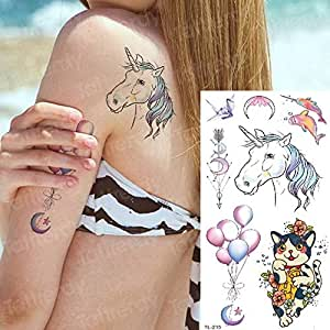 adgkitb 4 Piezas Tatuaje Manga Mujer Tatuaje Temporal Pegatinas ...