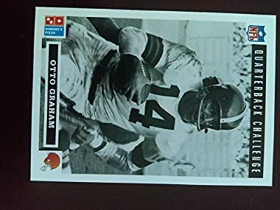 Otto Graham - Cleveland Browns - 1991 Upper Deck Domino's Quarterback Challenge #36 - Hall of Famer
