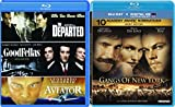 Martin Scorsese Blu-ray Collection - Gangs of New York, The Aviator, Goodfellas & The Departed 4-Movie Bundle