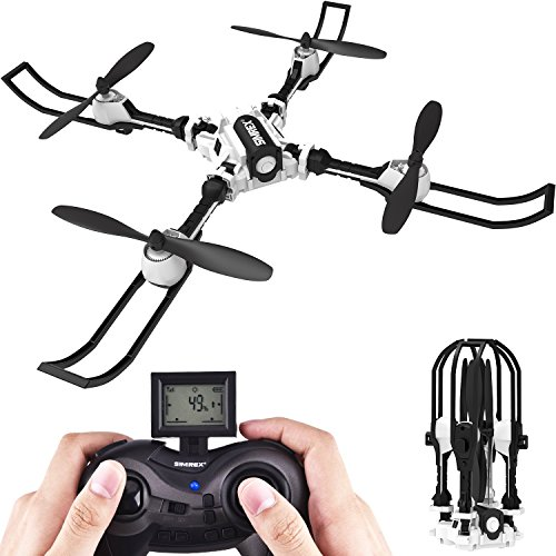 Altitude Hold Function. You can release the throttle stick and the drone will keep the current height. Super simple control. Excellent drone for beginners and hobby users 360 Degree Flips & Rolls. One key 3D rolling special effects. Flip ...