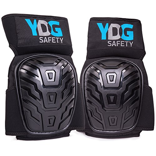 Professional Knee Pads With Comfort Click Belt Strap For Knees, Non Slip, Durable PVC Pad Provides Most Comfortable Support With Cushioned Interior. Tactical Gear, Suitable For Construction Work