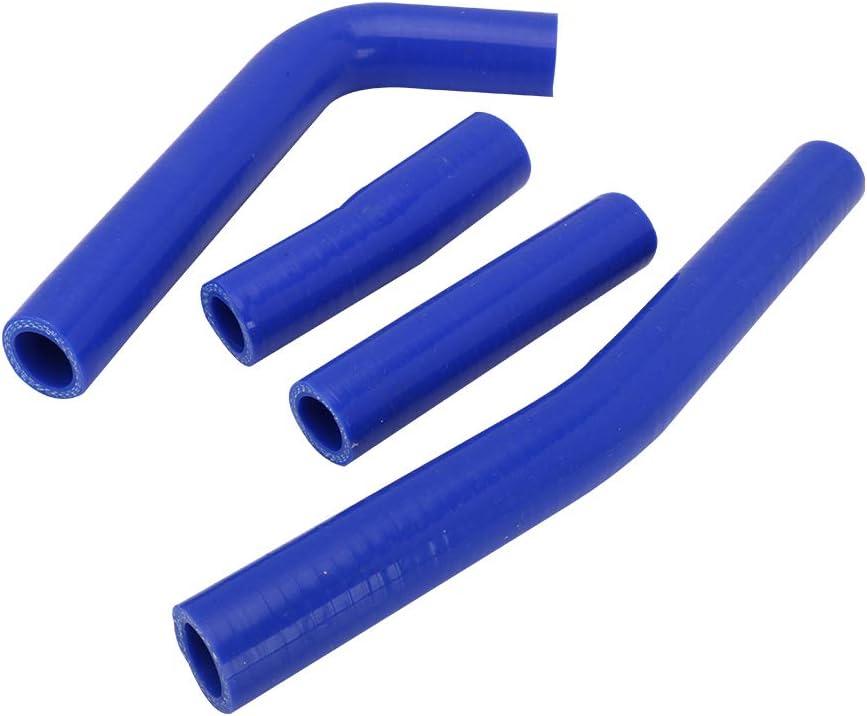 Blue Motorcycle Radiator Coolant Silicone Hose Hoses For Yamaha WR400F 1998-2000 WR426F 2001-2002 YZ400F 1998-1999 YZ426F 2000-2002