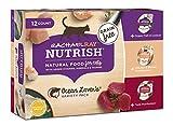 Rachael Ray Nutrish Natural Wet Cat Food, Variety Pack, Ocean Lovers, Grain Free, 2.8 oz tub, Pack of 12 Larger Image