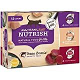 Rachael Ray Nutrish Natural Wet Cat Food Variety Pack, Grain Free, Ocean Lovers, 2.8 oz tubs, Pack of 12