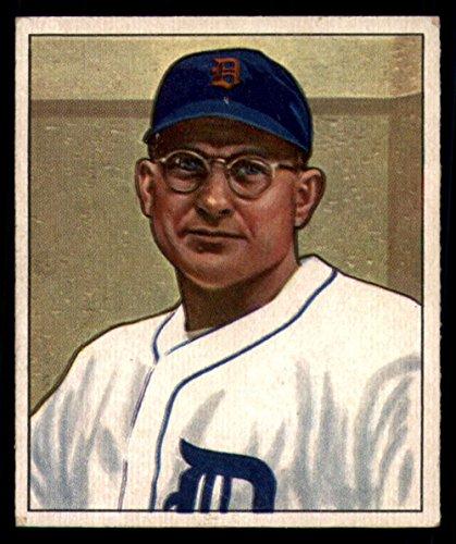 1950 Bowman #134 Dizzy Trout Tigers MLB Baseball Card G Good