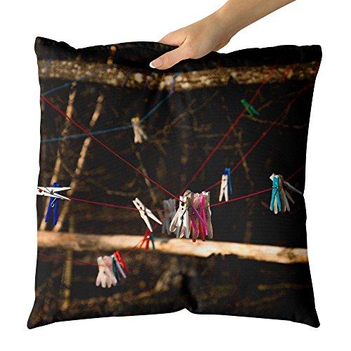 Westlake Art - Red Drying - Decorative Throw Pillow Cushion