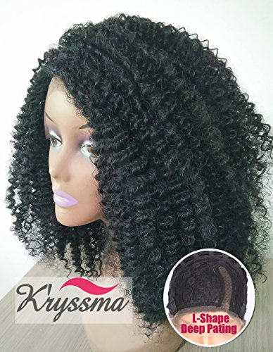 K'ryssma Cheap Realistic Looking Synthetic Lace Front Wigs