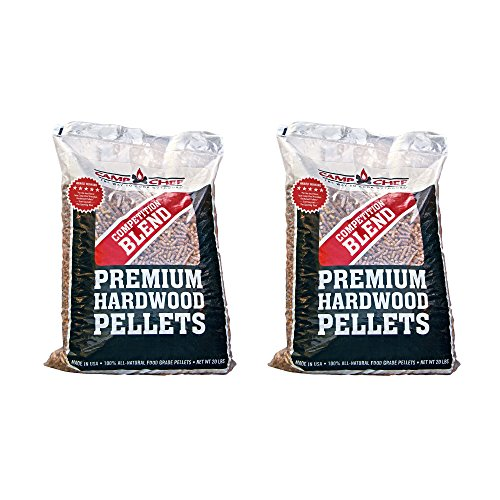 Camp Chef Smoker Grill Competition Blend Hardwood Pellets, 20 lbs (2 Pack) by Camp Chef