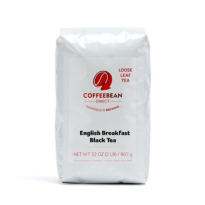 Grano de Café Desayuno Inglés Té Suelto. directa, 2 libra ...