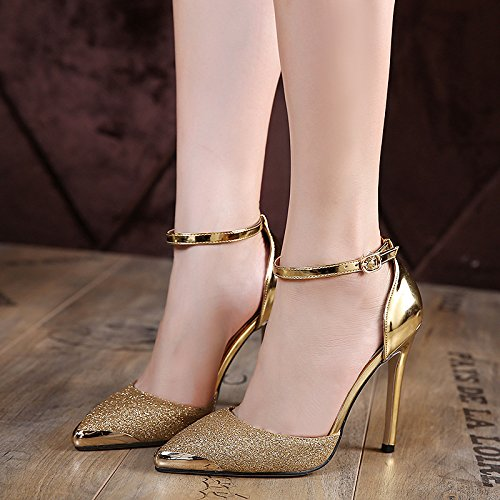 scarpe Golden sottile eight Donyyyy Thirty tacco Tallone alto trentasette qwvBpIHx