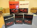 ULTRA PRO MTG Deck Box *Set of (5) PRO 100+* Magic Black Red Green Blue White w/Divider