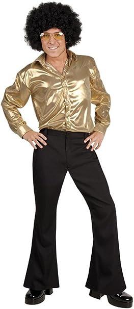 Camisa disco dorada - M: Amazon.es: Juguetes y juegos
