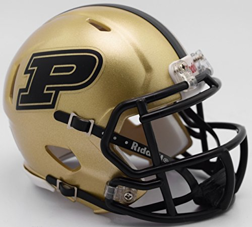 Purdue Boilermakers Riddell Speed Mini Football Helmet