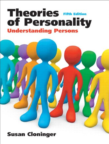 Theories of Personality: Understanding Persons (with Current Directions in Personality Psychology) (5th Edition)