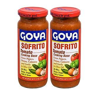 Goya Sofrito Tomato Cooking Base 12oz(Pack of 02)