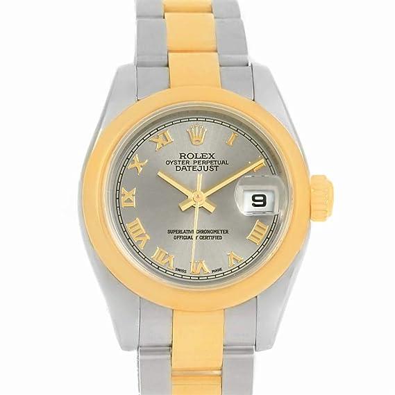 Rolex Datejust automatic-self-wind - Reloj 179163 (Certificado) de segunda mano: Rolex: Amazon.es: Relojes