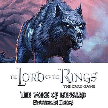 The Voice of Isengard Nightmare Dk Asmodee Editions FFGUMEN28 LotR