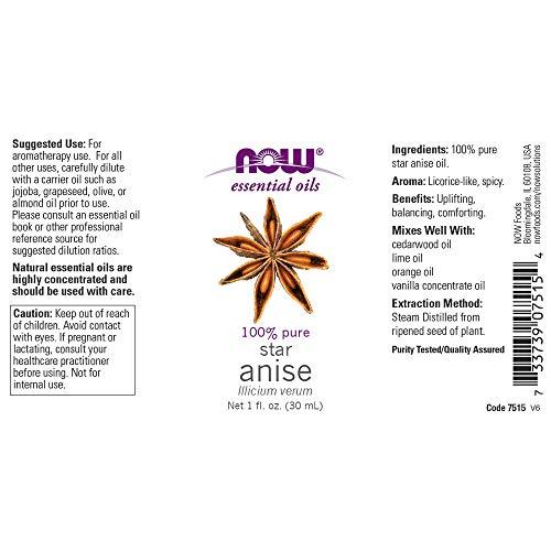 f187d56826a SHOPUS | Now Essential Oils, Anise Oil, 1-Ounce