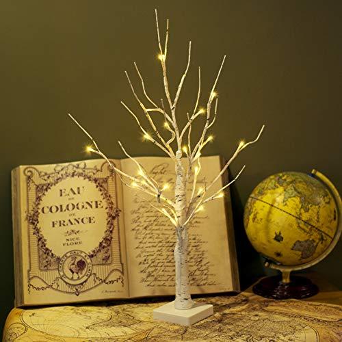 Vanthylit LED Birch Tree Light Tabletop Bonsai Tree