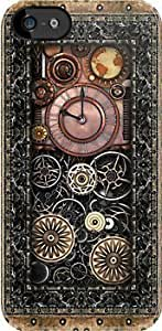 Infernal Steampunk Timepiece Custom Hard Case For Htc One M9 Cover -Black CASE