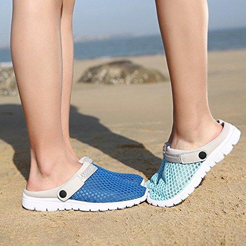 Shoes Moda Calzature Scarpette Sandali Spiaggia Uomo da Giardino Unisex Traspiranti da Zoccoli Antiscivolo Slip On Pantofole Dingcaiyi Appartamenti Donna da Morbida Lavoro Estate 8pB6qS8O