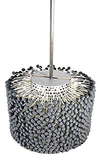 120 Grit Pack of 1 Silicon Carbide 10 Diameter Brush Research GBD Heavy Duty Flex Hone