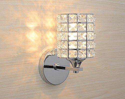 Applique da parete koonting lampada da parete a cristallo decorato