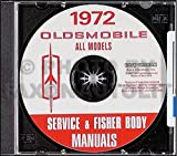 1972 Oldsmobile CD-ROM Repair Shop Manual, Body Manual