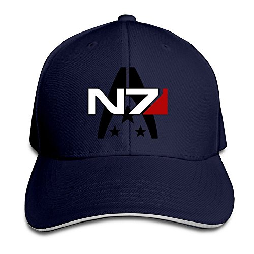 BOoottty Mass Effect Alliance N7 Special Forces Flex Baseball Cap Navy (Mass Effect Best Krogan Armor)