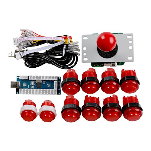 Reyann Zero Delay LED Arcade Game DIY Parts USB Pc, used for sale  Delivered anywhere in USA