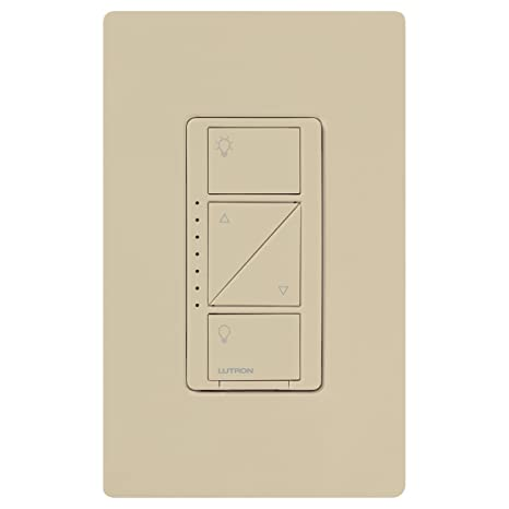 Lutron Caseta Wireless Smart Lighting Dimmer Switch for Wall & Ceiling Lights, PD-6WCL-IV, Ivory, Works with Alexa, Apple HomeKit, and the Google Assistant ...