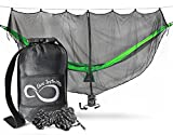 Cheap Extreme Protection Lightweight Hammock Mosquito Bug Net– 11' Long by 5' – Perfect Netting To Keep Out No See Ums, Mosquitos & All Bugs –Universal For All Nylon Camping Hammocks- X-L Attached Pouch