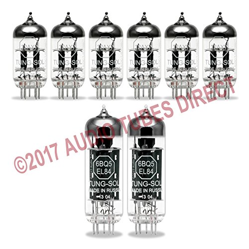 Tung-Sol Tube Upgrade Kit For Mesa Boogie Dual Caliber DC-2 Amps EL84 ()