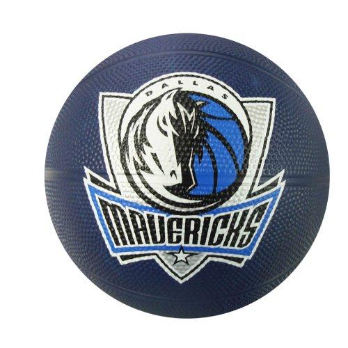 Spalding NBA Dallas Mavericks Mini Rubber Basketball