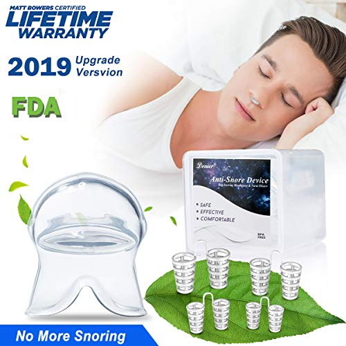 Anti Snoring Devices Snoring Solution, 4 Set Snore Stopper Nose Vents Nasal Dilators Anti Snoring Stop Snoring Solution Anti-Snoring Sleep Aid Device Snore Reduction for Men Women