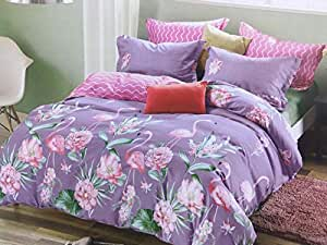 Comfort King Size, Cotton,Multi Pattern, Multi Color - Bedding Sets