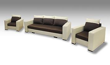 Rabatti Mobeltrend Delta 3 Sitzer 3er Sofa Couch Mit Schlaffunktion