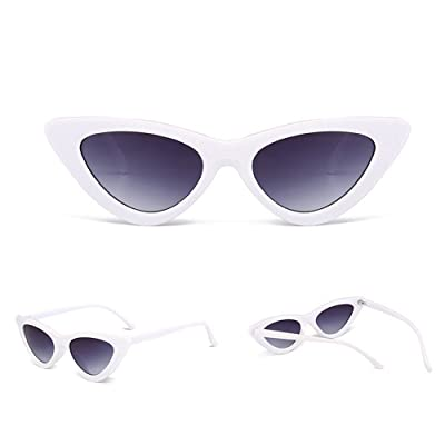 Cnebo Fashion Polarized Cat Eye Sunglasses for Women, and Vintage UV Protection Glasses Clout Goggles Eyewear Sun Glass Travel: Sports & Outdoors