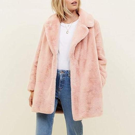 Frauen mit Kapuze Fuzzy Sherpa Sweatshirt Fleece Pullover Warmer OSYARD Damen Rei/ßverschluss Kapuzenpulli Mantel Winter Warme Wolltaschen Mantel Outwear